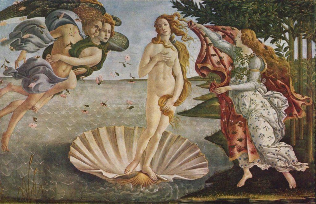 Venere di Botticelli. Maria Luongo Psicologo